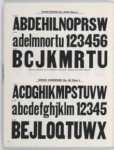 : Woodtype: selective emphasis for fine typography: [Typefaces]