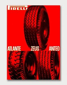Mid-Century Pirelli Advertising. / Aqua-Velvet #advert #1960s #poster #pirelli