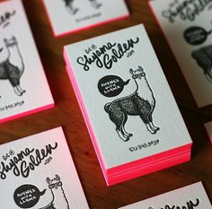 Shyama Golden : Lovely Stationery . Curating the very best of stationery design #design #letterpress #stationery