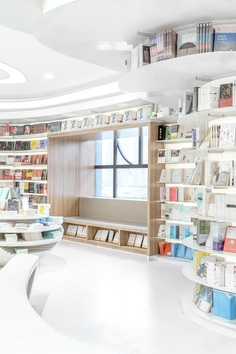 Zhongshu Bookstore Built with 300 Tons of Steel and 30,000 Meters of Light Strips 7