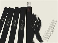 Mondo: The Archive | Jay Shaw - Kill List, 2012 #movie #list #poster #kill