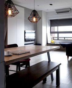 Lary & Zoe's House by Z-Axis Design - #lamp, #design, #lighting