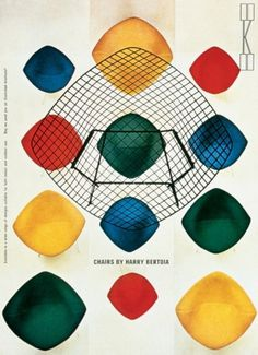 muse:magazin #bertoia #chairs #harry #design #furniture