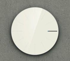 Obligatory Designer Clock Minimalissimo #analog #dial #mechanical #piece #time #watches
