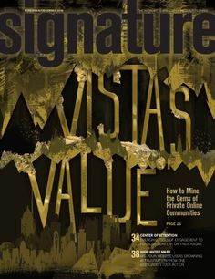 The cover for the Nov/Dec 2015 issue of Signature #magazine is a custom #illustration - Senior Designer, Emily Biondo