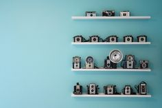 Things Organized Neatly #organised #blue #photography #vintage