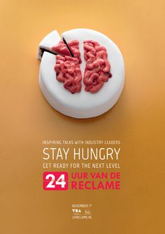 24 Hours of Advertising on Behance #24 #reclame #cakes #photo #food