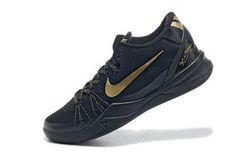 """Nike Kobe 8 System Elite """"Black/Metallic Gold"""" #shoes"""