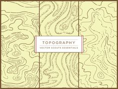 Topography pattern