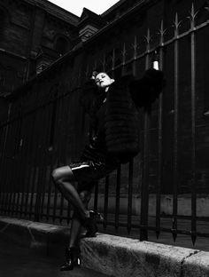 Malgosia Bela for Antidote Magazine #fashion #model #photography #girl