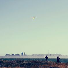 All sizes | Flying Kite in San Francisco | Flickr - Photo Sharing!