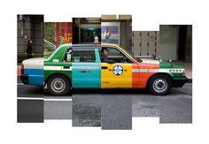 Arnaud Wacker #tokyo #taxi #street