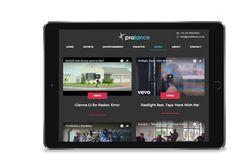 ProDance website design, by Redspa http://redspa.uk