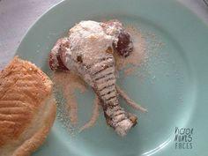 food art #inspirational #artist #food #elephant #art #object #face