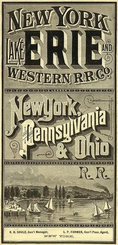 typeverything.com, David Rumsey Map Collection via King George #type #lettering #vintage