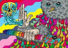 The universe of Berje #illustration