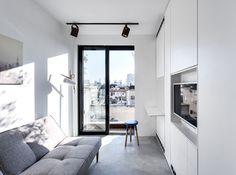 Duplex Penthouse by Toledano + Architects. #duplexpenthouse #toledanoplusarchitects #livingroom