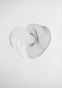 According to the common system, before the creation of Matter, there... but does it float #direction #movement #form #drawing