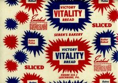US Bread Wrappers of the 40s and 50s | HOW TO BE A RETRONAUT