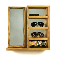 Andy - Manity Wall Valet - Hand Made in Brooklyn, NY #bina #storage #aaron #dan #black #wood #kahokia #shelf