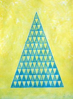 Dan+Bina%2C+Trickle+Down+Theory%2C+3-10-11+copy.jpg (JPEG Image, 533x720 pixels) #abstract #theory #trickle #bina #color #dan #painting #triangles #watercolor