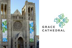 grace cathedral identity #logo #religion