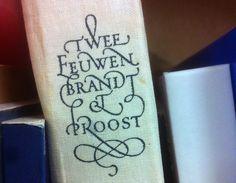 Jan van Krimpen type #swash #holland #ligatures #typography