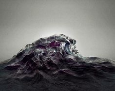 sougwen 2012_hightide_00 th #sougwen #chung #ilustration #wave