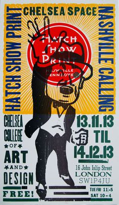 Creative Review Hatch Show Print, an antidote to our digital age #print #design #poster