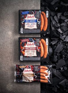 Lithells on Packaging of the World - Creative Package Design Gallery #meat #packaging