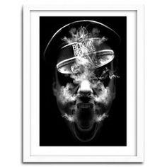 BLOODY SMOKER by Nicolas Obery FANTASMAGORIK #print