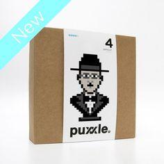 puxxle — Fernando #puxxle #pessoa #puzzle #pixel #vinyl #poetry #wall #fernando #art #portuguese #game