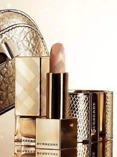 Burberry make up and accessories in festive gold hues from the A/W13 festive collection #burberry #photography