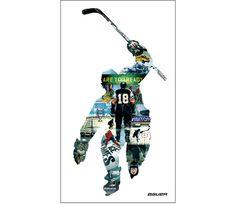 Nike Bauer - Harsky #hockey #poster