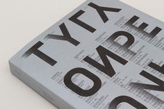 Type_Only_Cover_Editorial_1 #unit editions