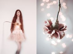 Blossom on Behance #diptych