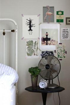 Ellmania #interior #design #bed #fan #decoration