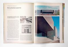 Progressive Architecture Magazine, 1976   Gridness #grid #print #design #book