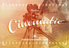 Consumer Industry Trend: Cinematic #1940s #branding #sepia #cinema #vintage #film #logo