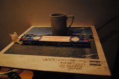 London coffee, nag champa & kendrick2   Flickr - david walby #nag #walby #vinyl #photography #lamar #kendrick #champa #david #incense