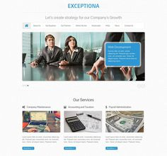 WordPress Themes for Accounting Company