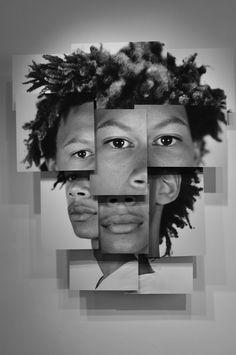Portrait Sculpture Photography by Brno Del Zou