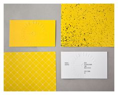 dylan_culhane_15 #business card #yellow #pattern #stationary #silk