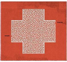 145_timeillo.jpg 400×368 pixels #cross #illustration #maze