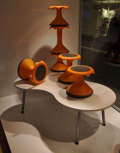 Furniture Hokki Stool Skeletal #interior #design #decor #home #furniture #architecture