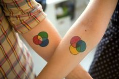 70+ Lovely Matching Tattoos #matching #tattoos