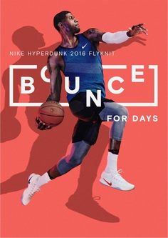 Nike Bounce to this Campaign: By Bureau Borsche