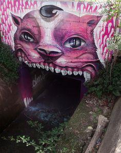 The Street Art of DMS #painting #art #street