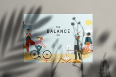 The Balance Company - Mindsparkle Mag Fable designed the branding for The Balance Company – a fashion and wellness label , created with a clear purpose to treat and serve a body right. #logo #packaging #identity #branding #design #color #photography #graphic #design #gallery #blog #project #mindsparkle #mag #beautiful #portfolio #designer