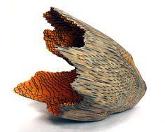 Jessica Drenk Pencil Sculpture #sculpture #pencil #jessica #drenk